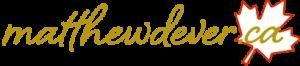 Matthew Dever .CA logo